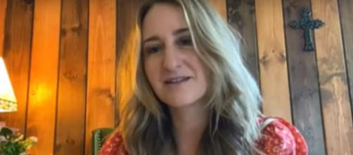 Margo Price smiles, after her husband's battle with COVID-19, and plays a 'Saturday Sessions' set from her 3rd album. [Image Source: CBS/YouTube