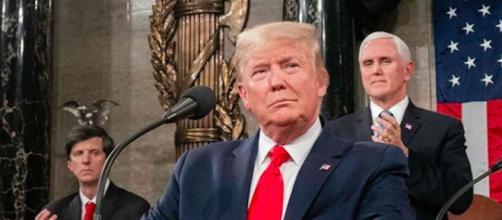 Donald Trump semble perdre du terrain. Credit: Instagram/ realdonaldtrump