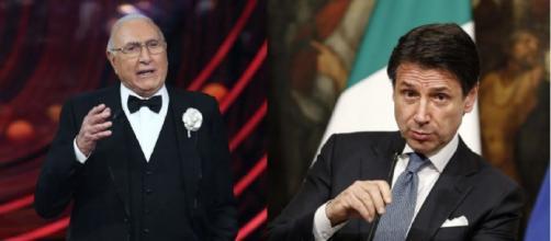 Pippo Baudo su Giuseppe Conte: 'È furbissimo'.