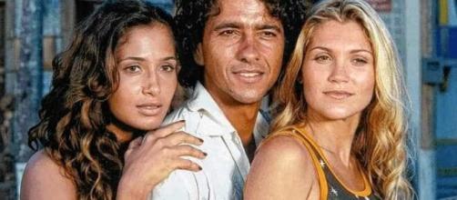 Camila Pitanga, Marcos Palmeira e Flávia Alessandra fizeram parte do elenco. (Reprodução/TV Globo)