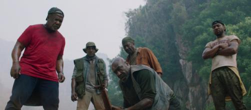 Cena do novo filme de Spike Lee na Netflix 'Destacamento Blood'. (Reprodução/Netflix)
