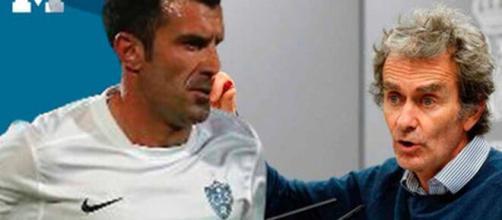 Coronavirus /Luis Figo sigue con su postura crítica, en esta ocasión, en contra de Fernando Simón