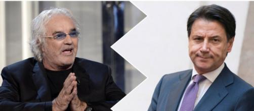 Flavio Briatore e il futuro del governo Conte