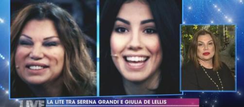 Live non è la d'Urso, Giulia De Lellis criticata da Serena Grandi.