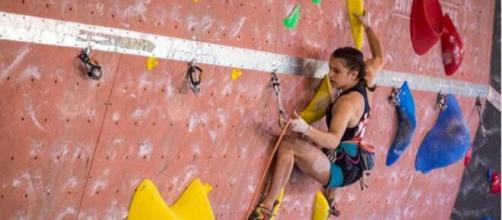 Luce Douady championne de France d'escalade a perdu la vie - capture d'écran photo Facebook