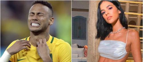 Neymar e Marquezine tinham um empecilho no relacionamento: os sogros. (Arquivo Blasting News)