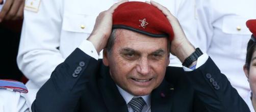 O presidente Jair Bolsonaro foi apontado como uma possível ameaça à democracia. (Arquivo/Blasting News)