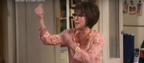"Rita Moreno really gets animated in new ""One Day at a Time"" special and while talking about current social protests.[Image source:CBS-YouTube]"