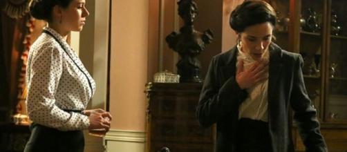 Una vita, spoiler Spagna: Genoveva uccide la sua amica Marlen a causa del marito Alfredo.