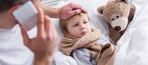 El Covid-19 puede enfermar a los niños. - gacetamedica.com
