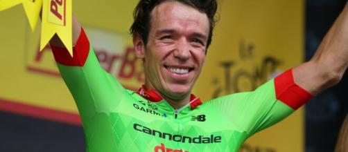 Il ciclista colombiano Rigoberto Uran.