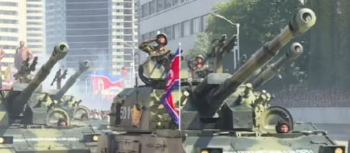 North Korea 'blows up joint liaison office' with South. [Image source/ BBC News YouTube video]