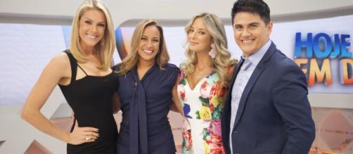 Ticiane Pinheiro [e apresentadora do programa 'Hoje em Dia'. (Reprodução/Record TV)