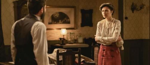Una vita, torna il serale su Rete 4, anticipazioni 20 giugno: Eduardo sa che Lucia mente.