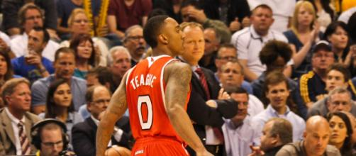 Jeff Teague was an a All-Star for the Hawks in the 2014-15 season. [Image Source: Flickr | Jeremy Lambert]