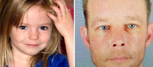 Madeleine McCann y Christian Brueckner, su supuesto secuestrador y asesino