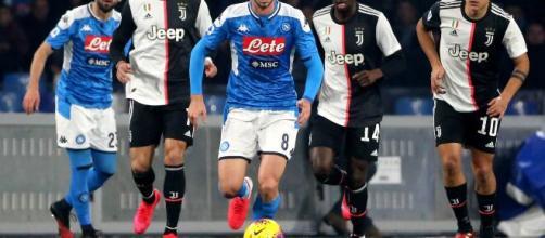 Napoli e Juve, l'una contro l'altra con in palio la Coppa Italia 2020.