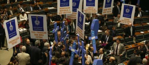 Oposição tenta parar MP. (Arquivo Blasting News)