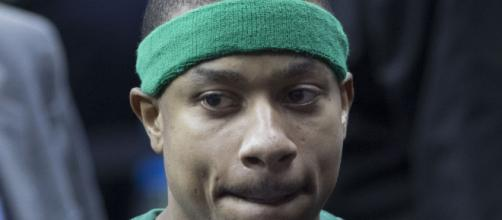 A reunion with the Celtics could be in the cards for Isaiah Thomas. [image source: Keith Allison-Wikimedia Commons]