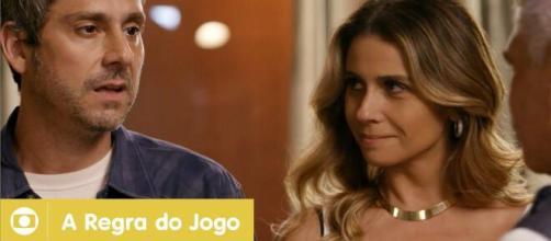Alexandre Nero e Giovanna Antonelli fizeram parte do elenco. (Reprodução/TV Globo)