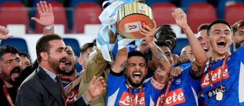 Il Napoli vince la coppa Italia, Insigne: 'Vittoria dedicata a chi lotta per il Covid-19'