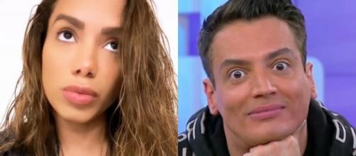 Leo Dias chama Anitta de 'vagabunda'. (Arquivo Blasting News)