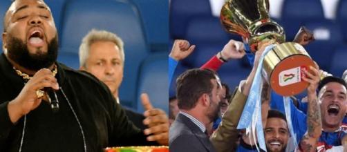 Sergio Sylvestre sbaglia l'inno di Mameli alla finale della Coppa Italia 2020: piovono critiche dal web sul cantante.