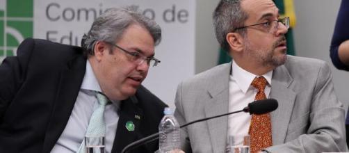 Antonio Paulo Vogel, ao lado do ex-ministro Wintraub. (Arquivo Blasting News)