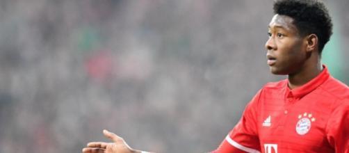 David Alaba, difensore-centrocampista del Bayern Monaco.