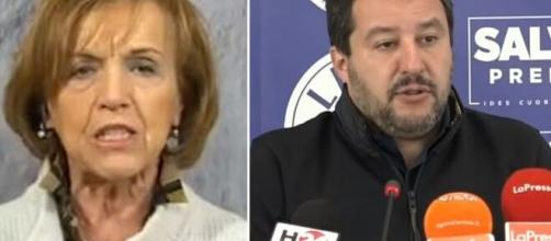 Elsa Fornero e Matteo Salvini.