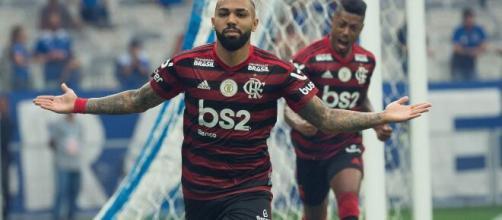 O Flamengo venceu o Bangu por 2 a 0 sem transmissão ao vivo. (Arquivo Blasting News)