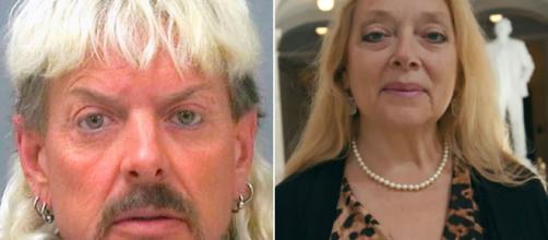 Joe Exotic e Carole Baskin, centrais no documentário da Netflix 'Tiger King'