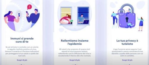 L'App Immuni si può scaricare sugli smartphone e dall'8 giugno inizierà la sperimentazione.