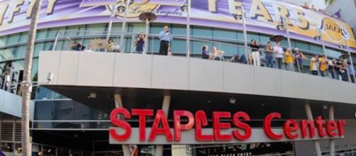 NBA, Stapples Center. Credit : Lakers