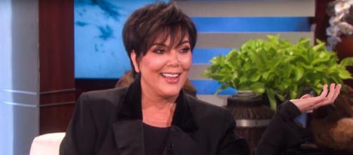 Retour sur la carrière de Kris Jenner. Credit : Capture EllenTube