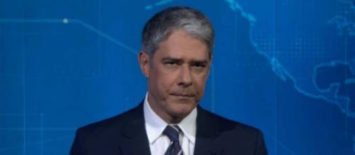 William Bonner e apresentador do 'Jornal Nacional'. (Reprodução/TV Globo)