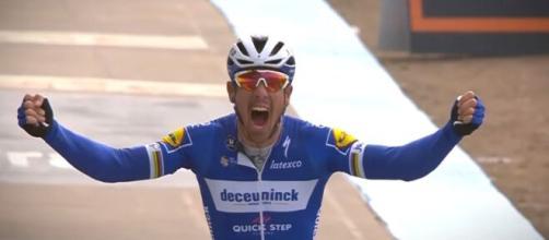 Philippe Gilbert, campione in carica alla Parigi Roubaix.