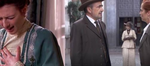 Una Vita, spoiler dal 22 al 27 giugno: Lucia sta male, ma Telmo non può vederla perché Eduardo si oppone.