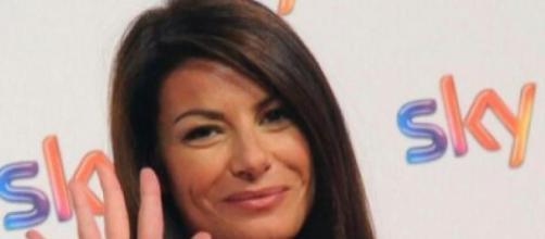 Ilaria D'Amico, giornalista sportiva.