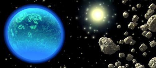 Asteroides visitam a Terra com certa frequência. (Arquivo Blasting News)