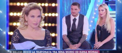 Barbara d'urso riprende Elena Morali a Live: 'Ti faccio un saluto a soreta in un secondo'.
