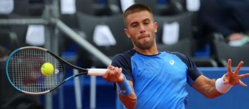 Borna Coric: dopo Dimitrov, anche il tennista croato è risultato positivo al coronavirus.