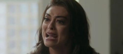 Carol ficará arrasada ao perceber que Arthur gosta de Eliza, em 'Totalmente Demais'. (Reprodução/TV Globo)