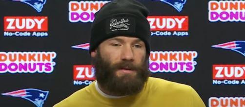 Edelman was the Patriots' top receiver last season (Image Credit: New England Patriots/YouTube)