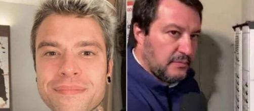 Fedez critica Matteo Salvini sull'uso dei social.