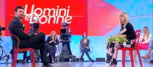 Gemma Galgani e Nicola Vivarelli a Uomini e donne.