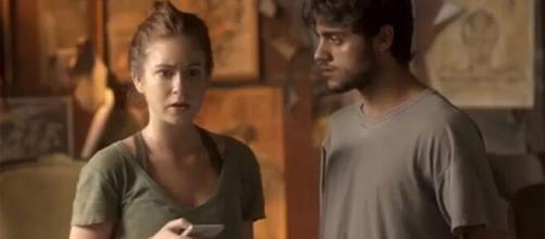 Jonatas se dispõe a ajudar Eliza em 'Totalmente Demais'. (Arquivo Blasting News)