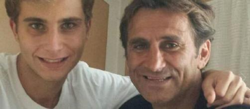 Alex Zanardi e suo figlio Niccolò