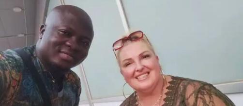 Angela and Michael plan on getting married in Nigeria. [Image Source: Instagram/ @deemangela]