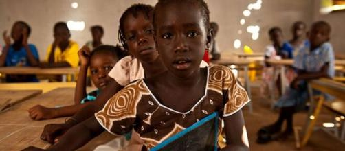 Des jeunes écoliers dans la régions de l'Extrême-Nord du Cameroun (c) Cameroon-report.com
